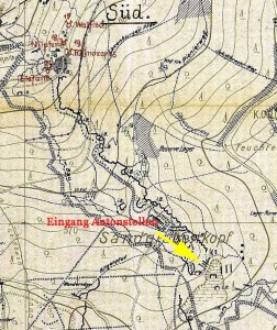 Karte Sandgrubenkopf